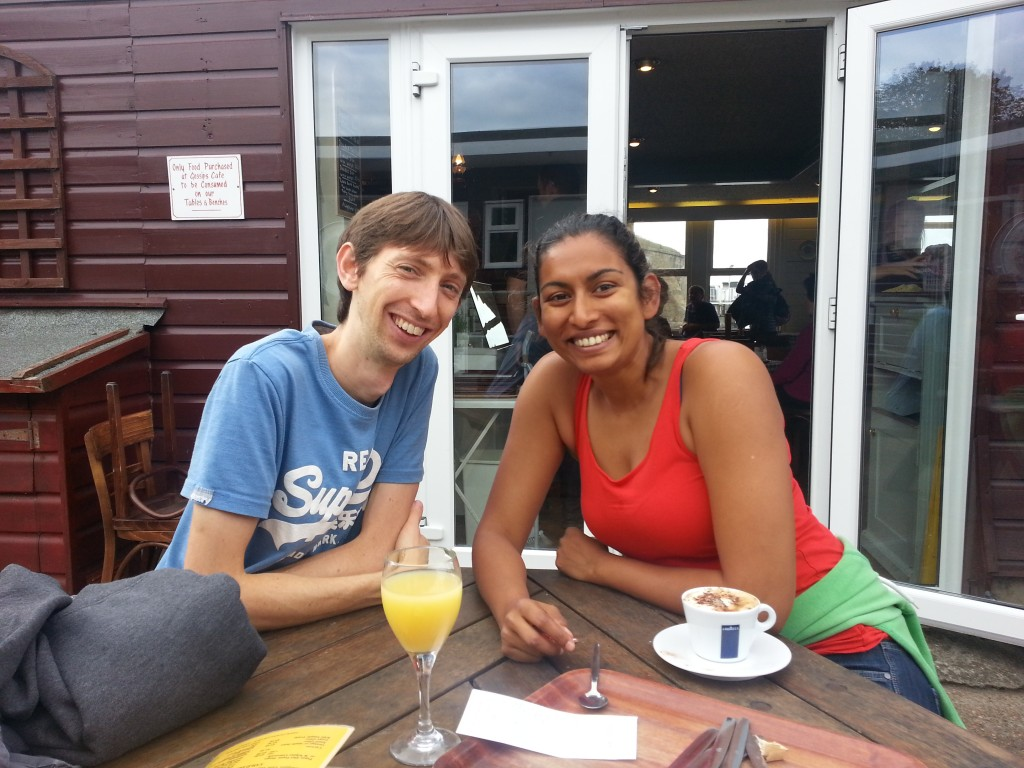 Tom & Vineeta Greenwood, my hosts in Sway