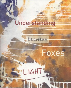Foxes and Light - front cover