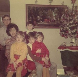 Dad + Mom + kids circa 1968