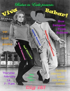 Babar in Exile #17 - Viva Babar - flyer